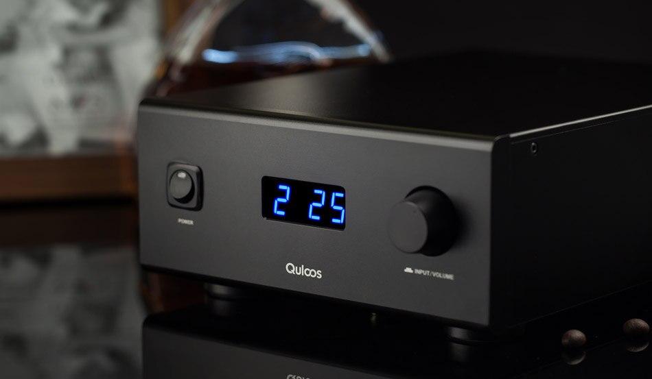 QLS HIFI QA690 Puro Full Digital Audio Amplificatore di Ingresso USB del PC/Coassiale * 2/Optical/RCA Alimentazione maniglia 160 W * 2 Supporto DSD 24Bit/192 KHz