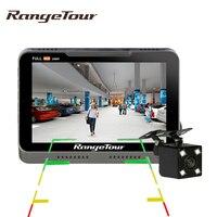 Dual Lens Dashboard B90s Plus Car Camera DVR Full HD 1080P 170 Degree Dash Cam with 4 LED Rear Camera Video Recorder