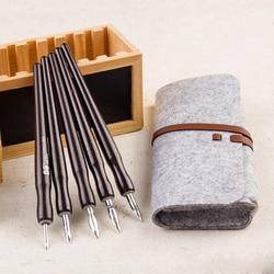 Japen Great Master Professional Comics Dip Pen Brand Fountain Pens Art Painting Tools 5 Shaft 5 Nib with Bag Set