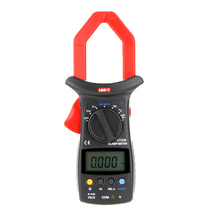 UNI-T UT206 Clamp Meter with Temperature LCD Backlight 3999 Count Auto Range DMM Digital Clamp Multimeters practical efficient smart lcd clamp meter multimeters voltmet electric voltage