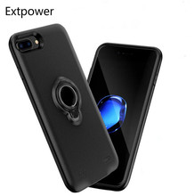 Extpower 7200mAh Battery Charger Cases For iPhone 6 6s 7 8 Magnetic Stand Holder Phone Case For iphone 6 6S 7 8Plus Pack Backup