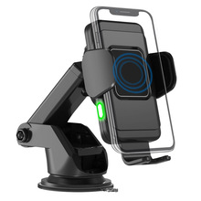 2 in 1 QI Wireless Fast Charger Car Mount Holder Stand For iPhone XS Max Samsung S9 Xiaomi MIX 2S Huawei Mate 20 Pro onsale