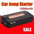 Портативный автомобиль скачок стартер многофункциональный diesel power bank bateria батареи 12 В 23000 мАч пик автомобильное зарядное устройство автоматического запуска booster