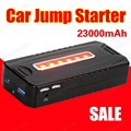 portable car jump starter multi function diesel power bank bateria battery 12V 23000mAh peak car charger auto start booster