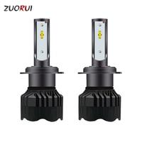 ZUORUI Car Light Car Led Headlight Bulbs H7 H4 Led H1 H9 H11 9012 9005 9006 880 LED Auto Light Automobile Product 12V 60W 8000LM