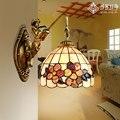 Европейский Тиффани Ретро настенный балкон проход ванная комната зеркало лампа оболочка лампа спальня кабинет