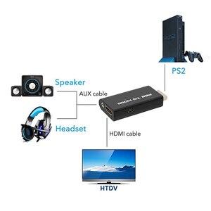 Адаптер AMKLE Mini PS2 в HDMI, видео конвертер с аудиовыходом, адаптер для HDTV с поддержкой 480i 576i 480p