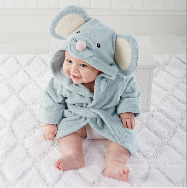 Hot sale Lovely  little mouse bathrobe Pure cotton with hood bathrobe bath towel bathrobe Hot sale Lovely  little mouse bathrobe Pure cotton with hood bathrobe bath towel bathrobe