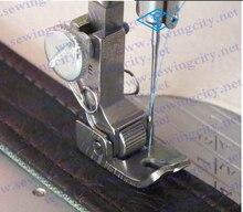 R2 industrial máquina de coser piezas de carro de rodillos de acero prensatelas carro los pies planos rodillo de ruedas nota modelos