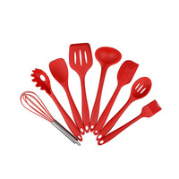 Non stick pan silicone kitchen set environmentally friendly cooking scoop tool kitchen utensils