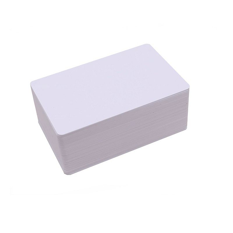 100PCS 215 Chip NFC Card Label Tag CR80 White Blank IC Card For Ink Jet Printer