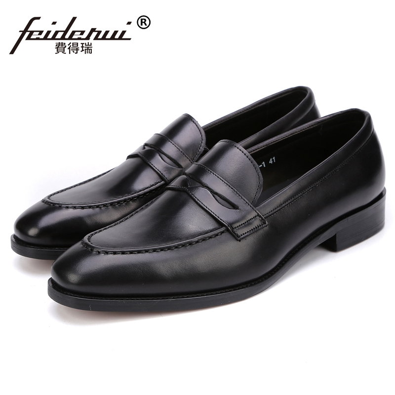 Elegant Handmade Man Casual Moccasin Boat Shoes Genuine Leather Comfortable Loafers Designer Men's Height Increasing Flats JS60 high quality genuine leather loafers men breathable casual shoes soft men flats fashion boat shoes lazy loafers man moccasin 2 5