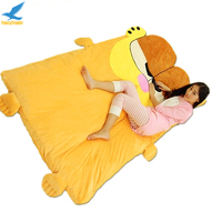 Fancytrader Anime Garfield Beanbag Soft Giant Plush Cat Bed Carpet Tatami Sofa Sleeping Bed Nice Gift FT90904