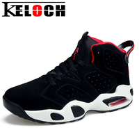Keloch 2018 Men Basketball Shoes For Women Outdoor Trainers Sports Ankle Boots Air Cushion Anti Slip