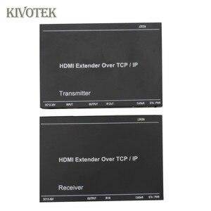Image 3 - 1080P HDMI Extender Sender sender Empfänger Adapter 200M durch CAT5e/6/7 Kabel LAN Anschluss IR control, 1xTX: NRXs Freies Verschiffen