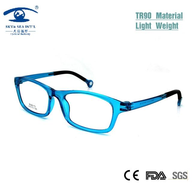 SKY&SEA OPTICAL Plain Optical Glasses for Children TR90 Memory Myopia Light Weight Optical Glasses Boy Girls  Kids Glasses