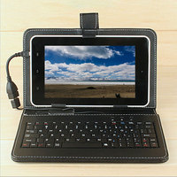 7 10 1 Universal Tablet PC Phone Keyboard Case Cover For Huawei Xiaomi Android Micro Port