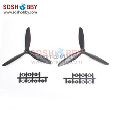 One Pair 7045 3 Blades Colored Clockwise and Counterclockwise Propellers 7 4 5 for Quadcopter X450