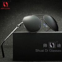 Retro Polarized Sunglasses Women Men UV400 Alloy Frame Frog Mirror Eye Wear Sun Glasses Pilot Driving