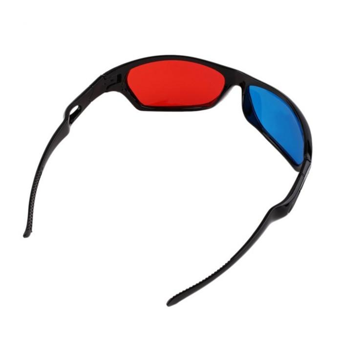 3D Vision Glasses Red Blue Plasma TV Movie Dimensional Anaglyph Framed WIF66