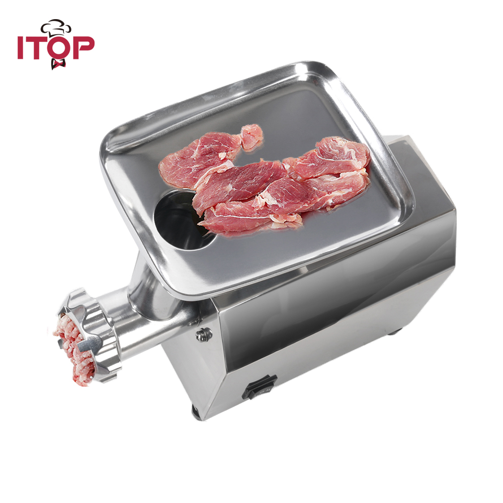 110-240V 140W Electric Meat Grinder Heavy Duty Household Sausage Maker Meats Mincer Food Grinding Mincing Machine 110 240v electric meat grinder heavy duty household commercial sausage maker meats mincer food grinding mincing machine