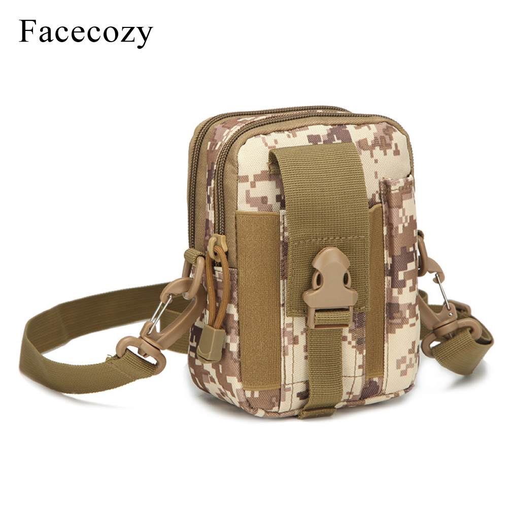 Facecozy pesca al aire libre bolsa táctica bolsillos cintura bolsas teléfono militar paquetes bolso escalada deportiva senderismo mochila