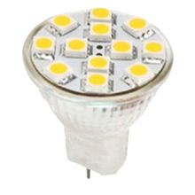 White Warm MR16 Base Un Dimmable MR16 Led Lamp Light 12VDC 12LEDs 5050SMD 2W Spotlight Bulb Bubble Ball Bulbs For Bedroom Decor