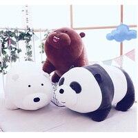 9 видов медведь/панда мягкая подушка подкладка в виде животных милая Толстая плюшевая игрушка чучела лучший подарок на день рождения для де...