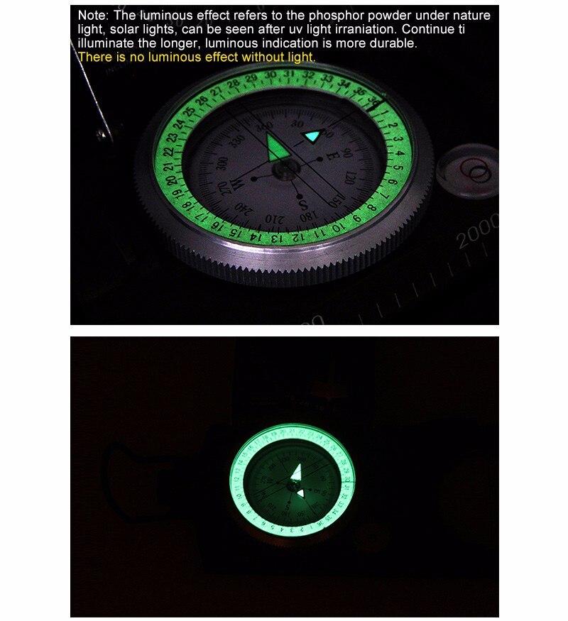 Cheap compass altimeter
