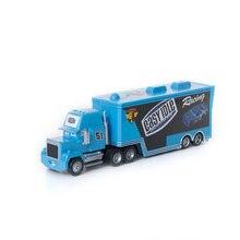 Disney Pixar Cars 2 3 Toys No.51 Mack Uncle Truck Lightning McQueen Jackson Storm 1:55 Diecast Model Car Toy Kids Gift