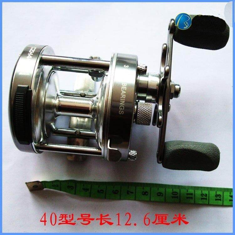 Боковое круглое металлическое барабанное колесо, правая рука, CL20-90, морские лодки, для рыбалки, эталонная приманка, катушка, рыболовные снасти, приманки, катушки