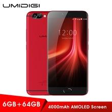 Original UMIDIGI Z1 Pro 4G Smartphone MTK6757 4000 mAh 6 GB + 64 GB Mobile Android 7.0 1080 P LTE Octa-core 2,3 GHz Dual Kameras Handys