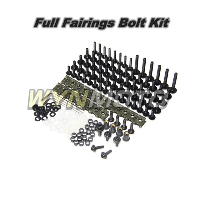 Motorcycle Fairings Aluminum Fastener Screws For Yamaha