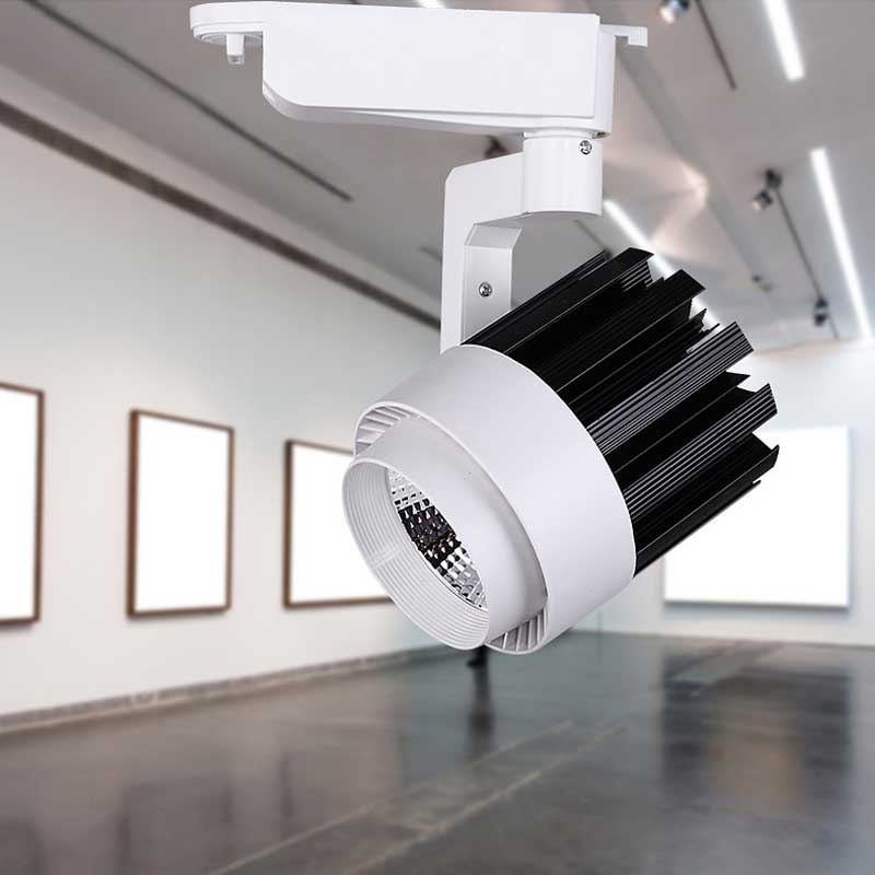 LED Track Light COB 15W 30W Ceiling Rail Lights Spotlight