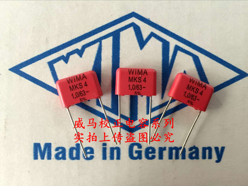 2019 Hot Sale 10pcs/20pcs Wima Germany Mks4 63v 1.0uf 1uf 1u0 105 P:10mm Promotional Specials Audio Capacitor Free Shipping