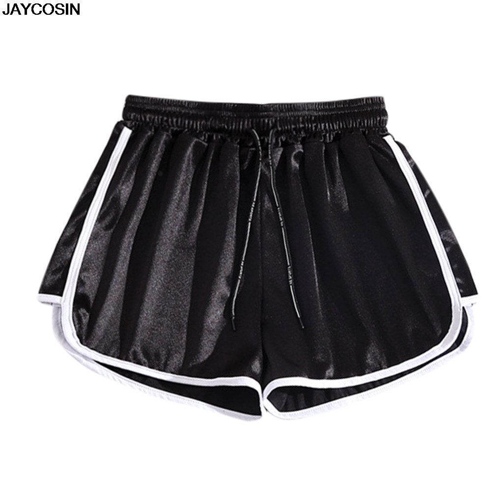 JAYCOSIN SHORTS Women Elastic-Waist Summer Casual Lady CLOTHING Solid Slim 9523 Hot-Sale