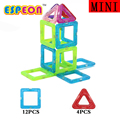 16PCS Mini Enlighten Bricks Tower Educational Magnetic Designer Toy DIY Building Blocks Bricks Toys for Children