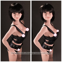 WMDOLL 138cm Realistic Silicone Sex Dolls Real Sized Mini Small Love Doll Lifelike Adult Sexy Toys Big Breast