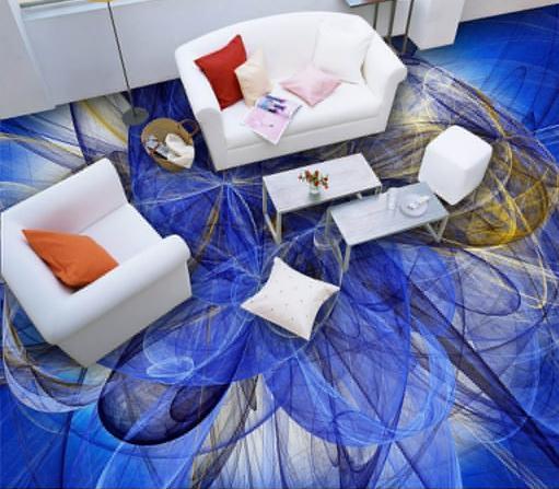 blau vinyl böden-kaufen billigblau vinyl böden partien ... - Wohnzimmer Tapete Blau