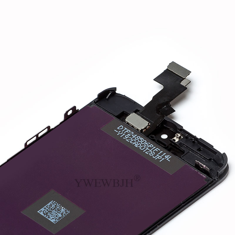YWEWBJH 100Pcs lot AAA LCD For 5C Screen No Dead Pixel Spots Display Touch Digitizer Assembly Repair Part Black Freeshipping in Mobile Phone LCD Screens from Cellphones Telecommunications