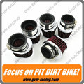 5 PCS Universal Stainless Ring Motorcycle Air Filter 42MM 45MM 48MM 52MM 54MM Motorcycle Cleaner For Yamaha Kawasaki Suzuki