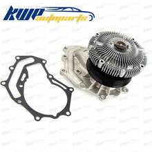 Motor Waterpomp w/Fan Clutch voor NISSAN PATROL GR V Wagon (Y61) 3.0 DTi TERRANO II (R20) 3.0 Di 4WD #21010-2W225(China)