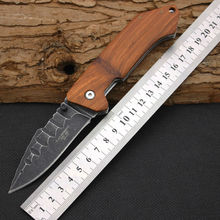 New Folding Knife HERBERTZ Survival Knifes 420ss Steel Blade Pocket Hunting Tactical Knives Camping Outdoor EDC Tools Y2