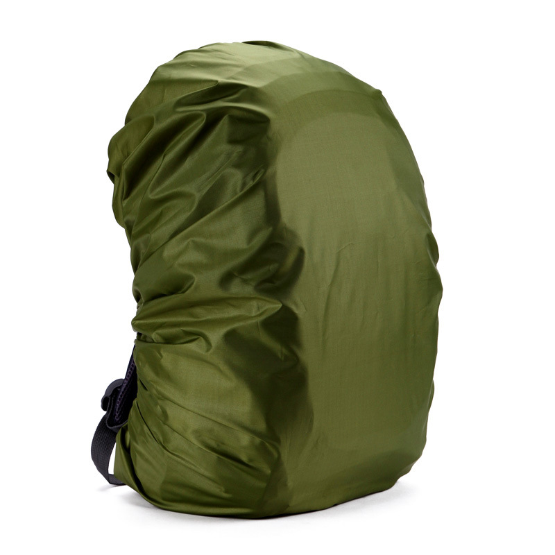 Durable Nylon Rain Waterproof Bag Cover Water Resist Backpack Rain Cover 35L Military backpack cover Dust RainCover Travel Kits