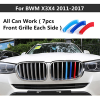 For BMW 1 2 3 5 Series X3 X4 X5 X6 3 Colors ABS 3D M