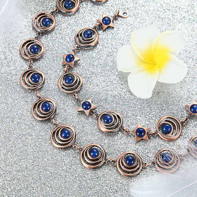 Купить welmag ювелирные наборы для женщин прямая поставка медь очарование