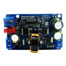 DC-DC automatic step-up and drop constant voltage constant current module 5A car-regulated solar wind energy charging LED driv