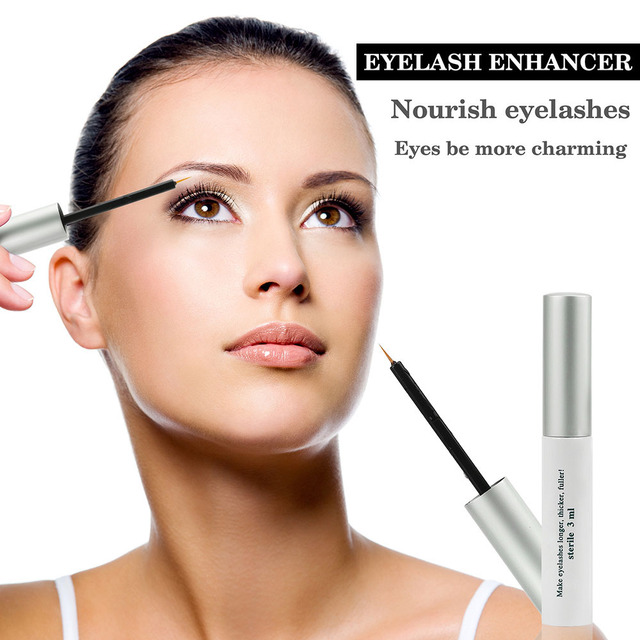 US Stock Herbal Eyelash Growth Treatments Liquid Serum Enhancer Mascara Eye Lash lengthening Thicker Curling Eye Makeup Tools 1