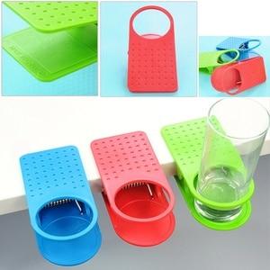 Image 3 - Mode tasse café porte boissons voiture organisateur Clip utilisation maison bureau bureau Table voiture intérieur accessoires couleur aléatoire