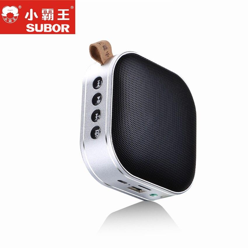 Subor D65 extérieur sans fil Bluetooth 4.2 stéréo IPX4 haut-parleur étanche avec basse Portable haut-parleur intégré micro résistance aux chocs